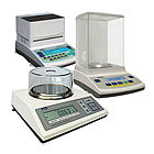 Measuring Instruments: Here you'll find our balances