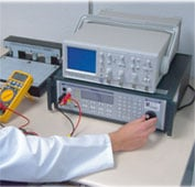 Measuring Equipment and Test Equipment: calibration of a multimeter.