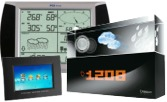 Weather Stations for measuring humidity, temperature, wind speed and air pressure.
