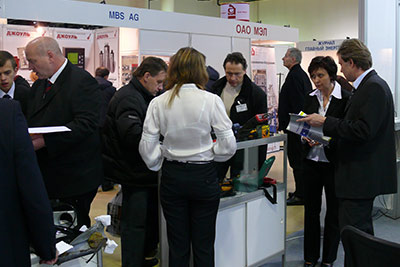 Exhibition TechExpo in Moscow.