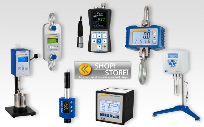 Full range of test equipment.