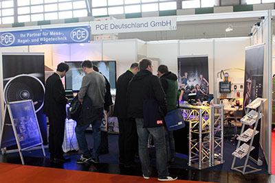 PCE Instruments at the German Maintenance exhibition.