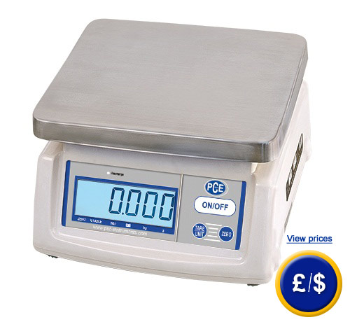 Dosing balance series PCE-ESM easy to transport and has a double weight range.