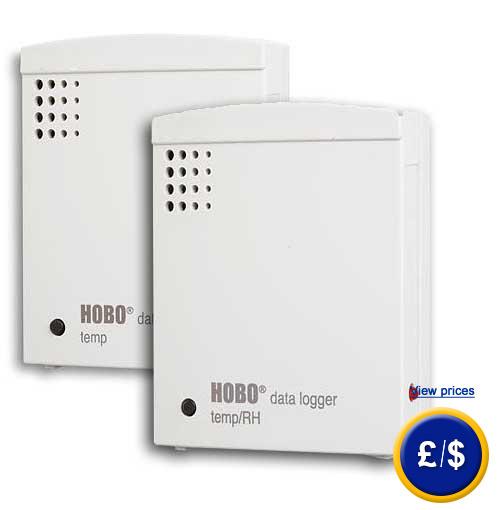 Hobo Data Logger : Data logger hobo u