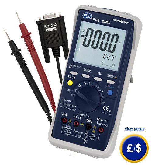 Digital Voltmeter PCE-DM 32