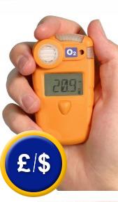 The professinal Gas Meter Gasman N used in situ.
