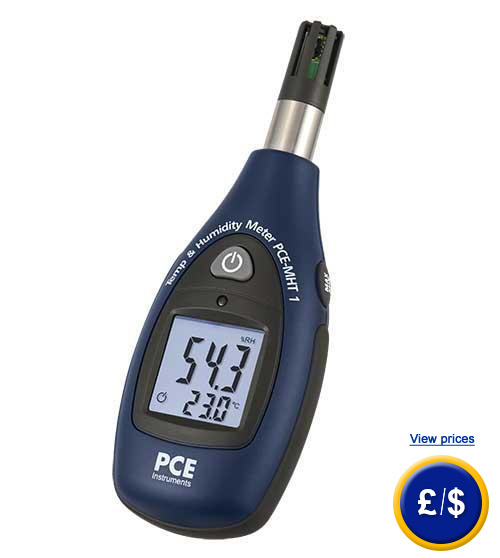 Further information: Mini Hygro-Thermometer PCE-MHT 1
