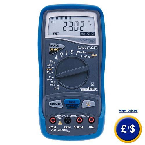 True RMS Multimeter Metrix MX 24B