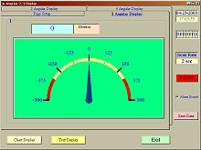 PCE-PTR 200 penetrometer: analogue representation
