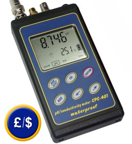 CPC-401M pH tester with special electrode for sausage, meat, cheese..