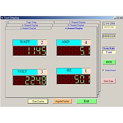 software for the PCE-PA6000 power meter