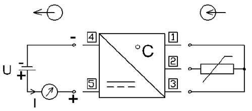 Pt 100 transducer pce p17pt connection diagram of the pt 100 converter pce p17pt ccuart Gallery