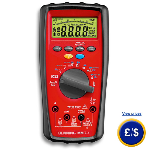 True Rms Voltmeter The True Rms Industrial