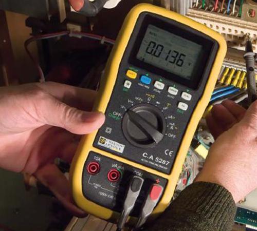 True Rms Voltmeter The True Rms Multimeter C.a