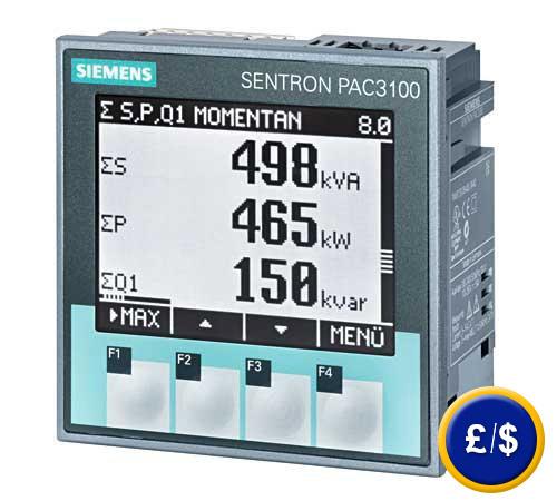 Industrial Energy Meters : Energy meter pac